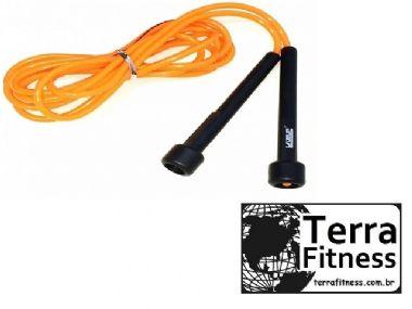 Corda de pular em PVC 2,75cm - Terra Fitness