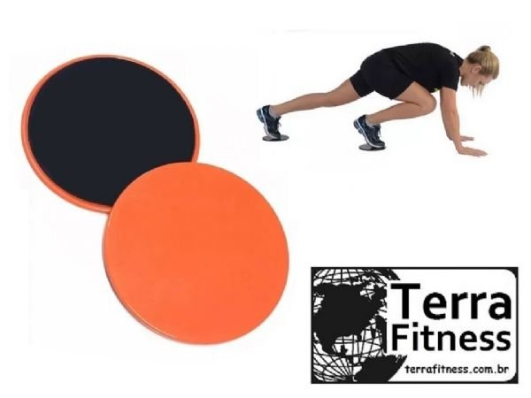 Disco de deslizamento Gliding Disc - Terra Fitness