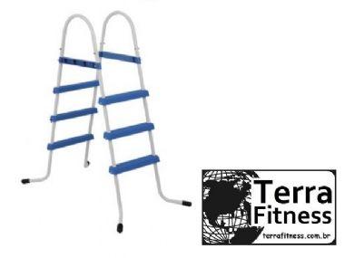 Escada para piscina 3 degráus - Terra Fitness