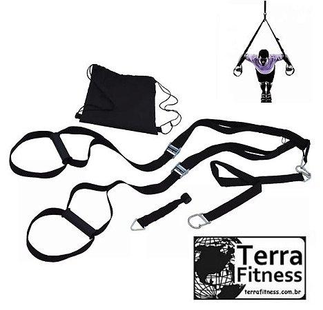 Fita de treinamento suspenso TRX - Terra Fitness