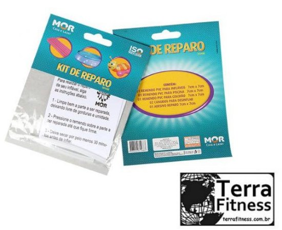 Kit reparo para piscina - Terra Fitness