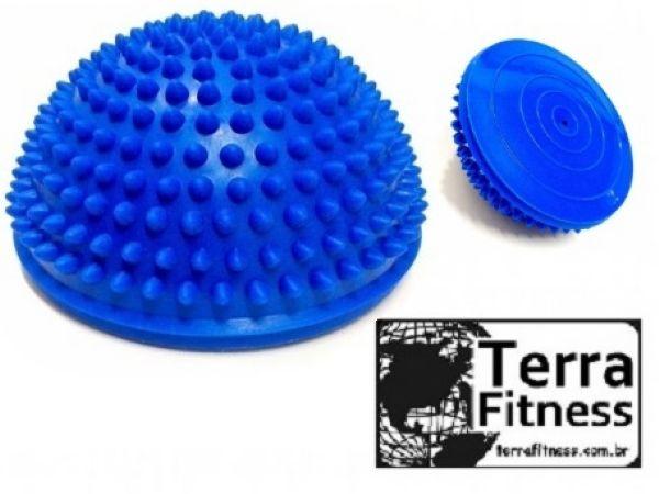 Meia bola cravo de equilíbrio - Terra Fitness