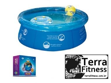 Piscina circular 1000 litros - Terra Fitness