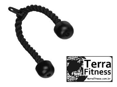 Puxador tríceps em corda - Terra Fitness