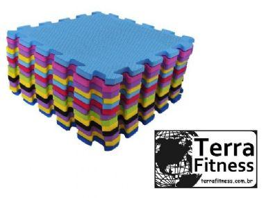 Tatame 30cmX30cmX10mm - Terra Fitness