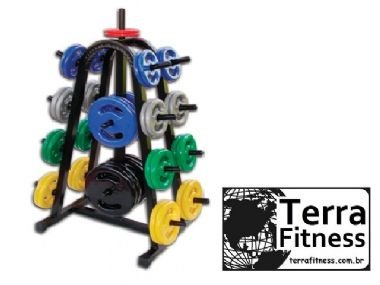 Suporte expositor 500kg de anilha - Terra Fitness