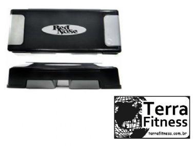 Step injetado para 3 regulagens de altura - Terra Fitness