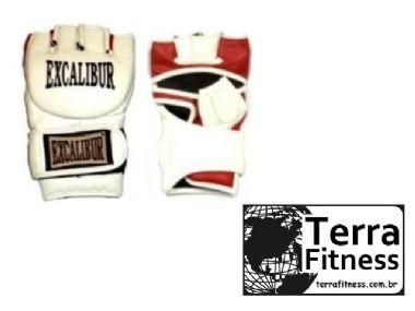 Luva MMA . Excalibur Branca - Terra Fitness