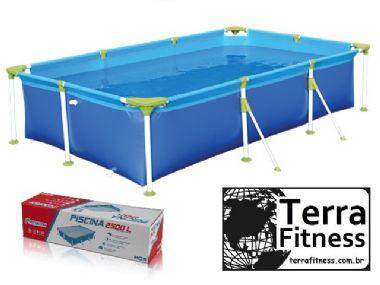 Piscina premiun 2500 Litros - 271cm X 156cm X 60cm - Terra Fitness