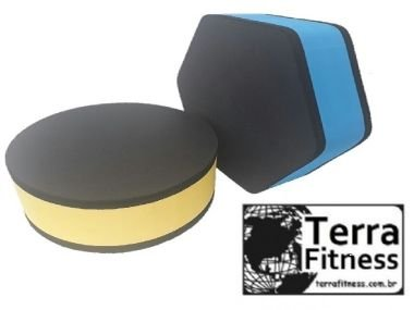 Step 40cmX40cmX20cm  Hexágono eva / eps - Terra Fitness