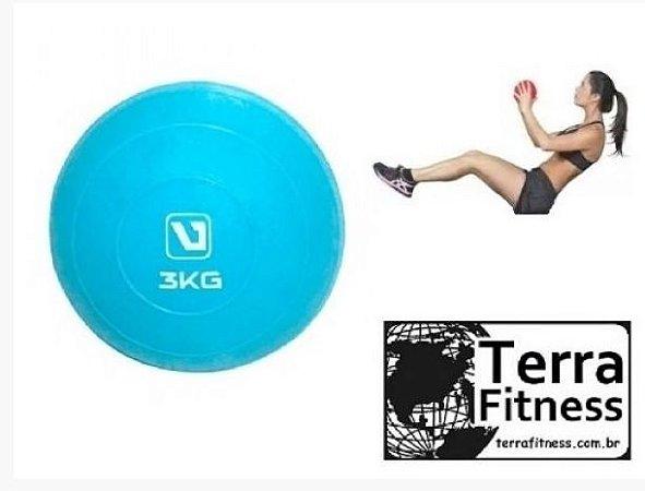Bola tonificadora Soft Ball 3kg - Terra Fitness