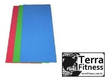 Colchonete 100cmx50cmx3cm em borracha eva - Terra Fitness