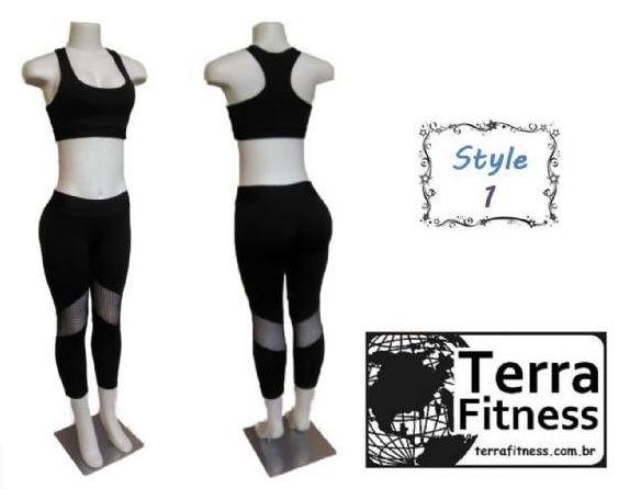 Conjunto Leg - Style 1 - Terra Fitness.