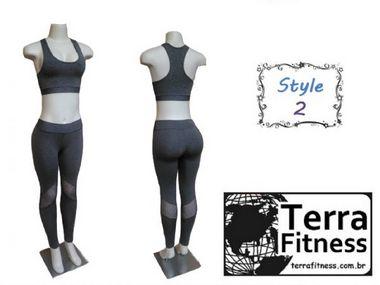 Conjunto Leg - Style 2 - Terra Fitness.