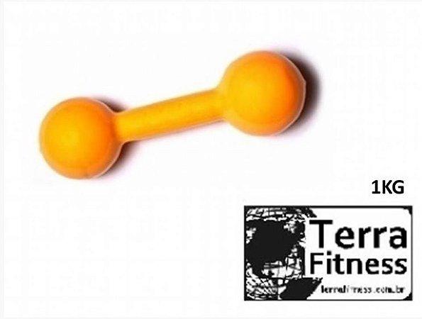 Halter emborrachado.......... 1kg - Terra Fitness