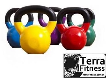 Kettlebell emborrachado 6kg - Terra Fitness
