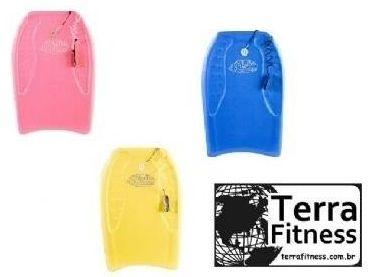 Prancha Bodyboard  ADULTO com lash- Terra Fitness