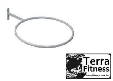 Suporte expositor de parede para bola Suíça - Terra Fitness