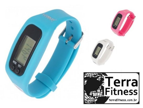 Relógio Pedômetro Digital - Terra Fitness