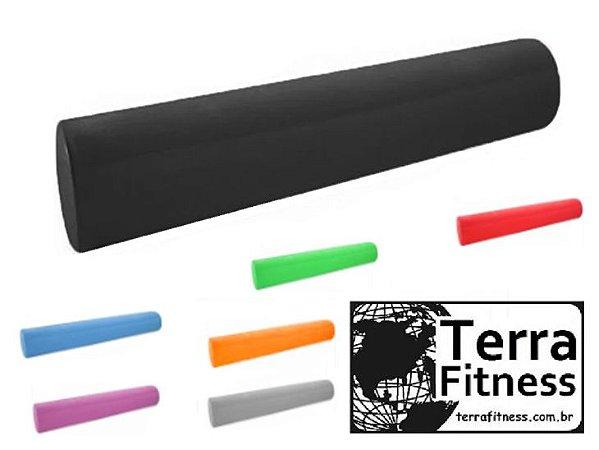 Rolo massagem Miofacial 70cm X Ø 15cm eva / eps - Terra Fitness