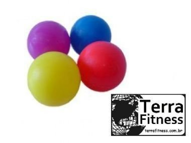 Bola anti-stress lisa para mãos e pés Ø6cm  - Terra Fitness