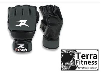 Luva MMA Cinza - Terra Fitness