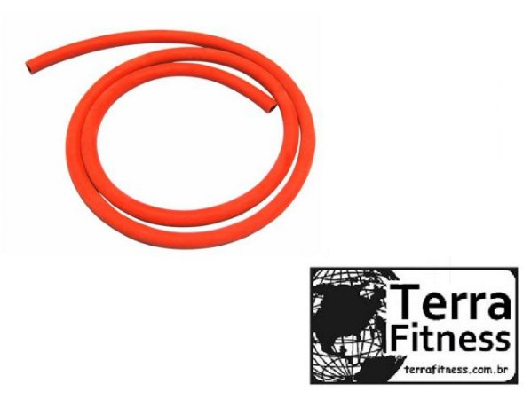 Elástico em tubo latex 150cm - Leve - Terra Fitness