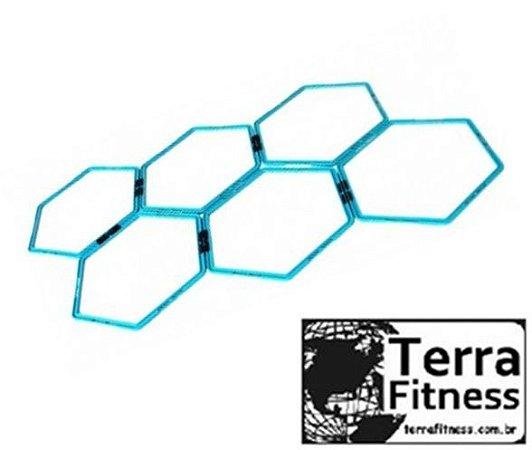 Grade De Agilidade Tipo Colméia 6pçs - Terra Fitness
