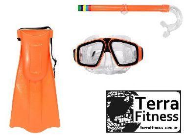 Kit Mergulho Juvenil - Lr - Terra Fitness