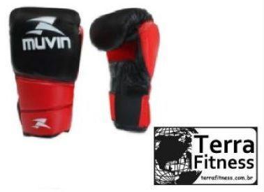"""Luva de boxe """"10oz""""  Vermelha - Terra Fitness"""