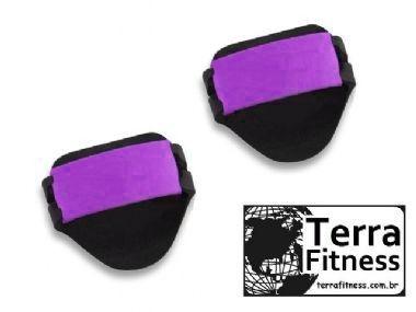 Luva Palmar Musculação em Eva com 2 Ajustes / Par - Ll - Terra Fitness