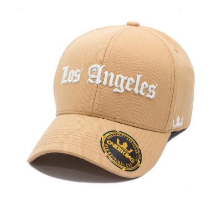 BONÉ OVERKING ABA CURVA STRAPBACK LOS ANGELES WHEAT