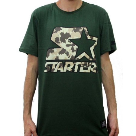 Camiseta Starter Digi Camo - Verde Militar