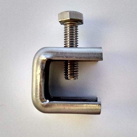 Adaptador Slim INOX 2mm com Parafuso M8 - 100 peças
