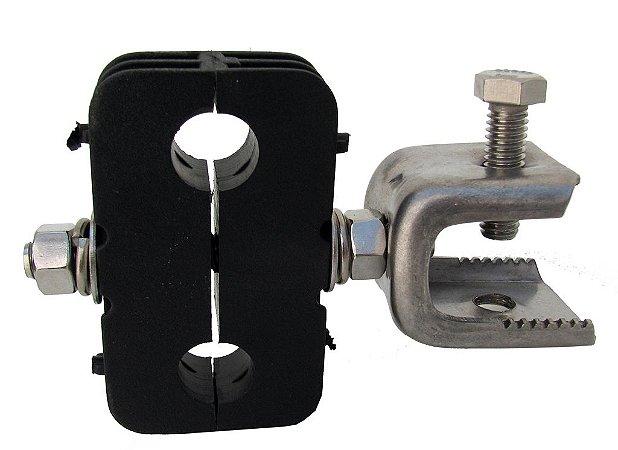 Abraçadeira Mini-Hanger c/ adaptador p/ cabo 1/2''