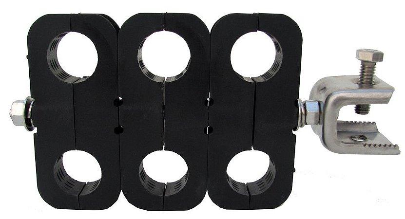 Abraçadeira Mini-Hanger c/ adaptador p/ cabo 7/8''