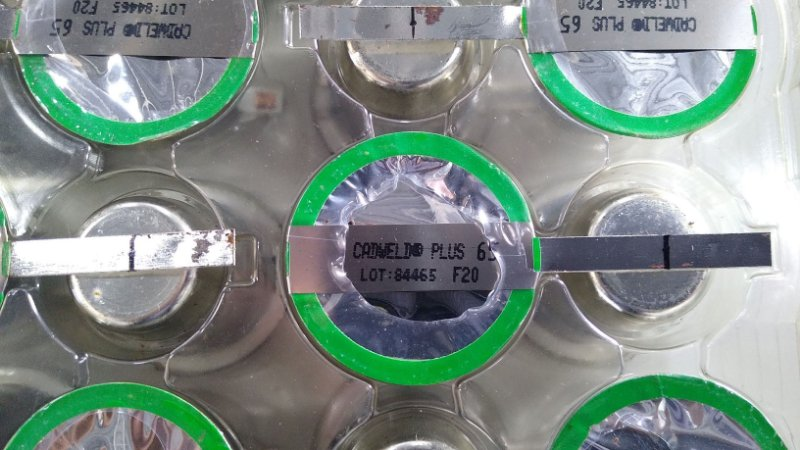 Caixa com 20 cartuchos - MATERIAL DE SOLDA NVENT ERICO CADWELD PLUS, F20 65PLUSF20