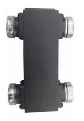 Acoplador Híbrido 2x2 - Din(F) - 698-2700MHz