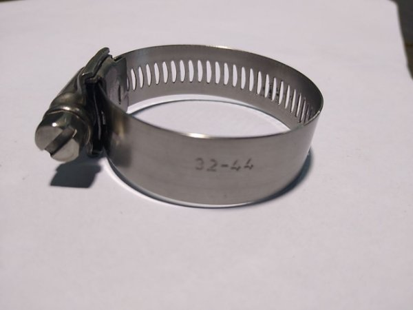 25 Abraçadeiras Inox 32-44 L14,6 Marca Suprens
