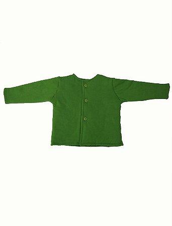Casaco Fofão em malha Verde para Bebê