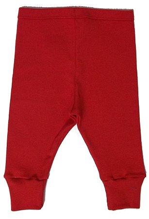 Calça Legging Vermelha para bebê