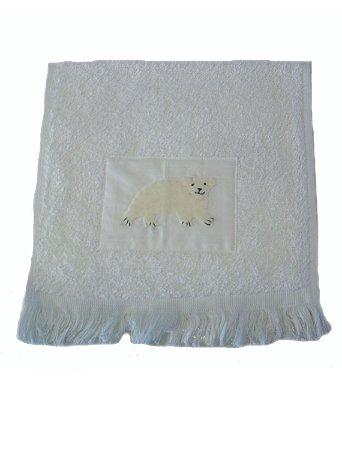 Toalha de Boca Urso Branco