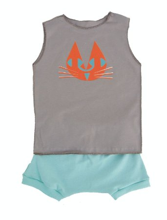 Conjunto para bebê Shorts e Camiseta