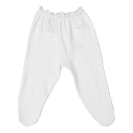 Calça Culote Segunda Pele Branco para Bebê Prematuro