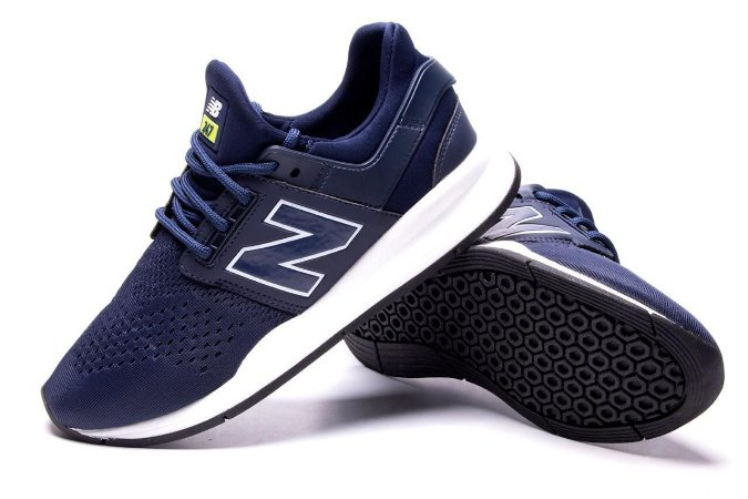 Novo New Balance 247 Masculino Azul com Branco - Envio Imediato