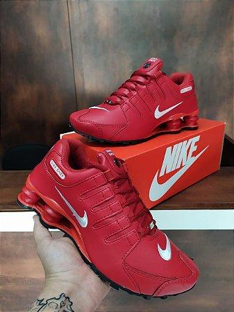Tênis Nike Shox NZ Vermelho Importado a Pronta Entrega