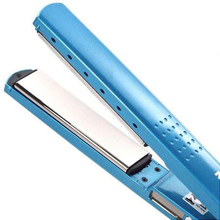 Prancha de cabelo Nano Titanium 450F PRO Styler Azul Ceramica  127/220v