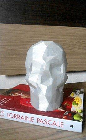 Caveira Geométrica 3D