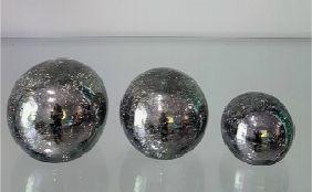 Trio de Bolas Craquele