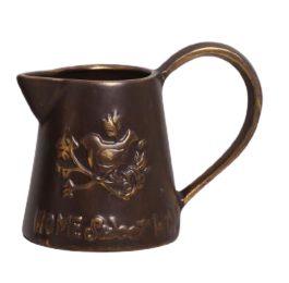 Vaso Chaleira  Vintage Antique Marrom